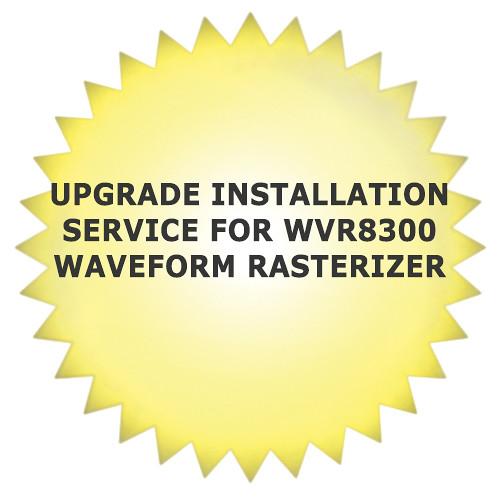 Tektronix Upgrade Installation Service for WVR8300 Waveform Rasterizer
