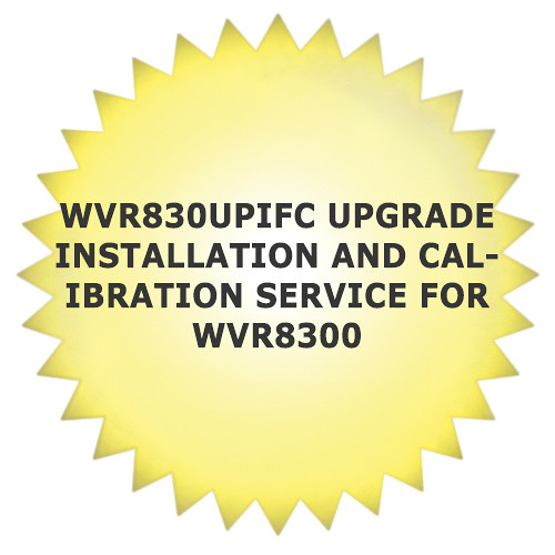 Tektronix WVR830UPIFC Upgrade Installation and Calibration Service for WVR8300