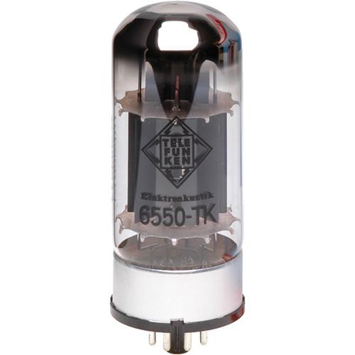 Telefunken 6550-TK Black Diamond Series Vacuum Tube