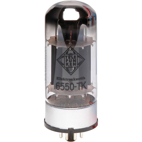 Telefunken 6550-TK Black Diamond Series Vacuum Power Amp Tube
