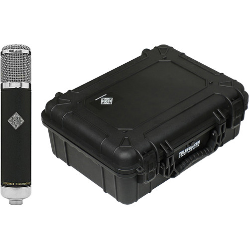 Telefunken AK-47 MkII Multi-Pattern Tube Condenser Microphone with Flight Case