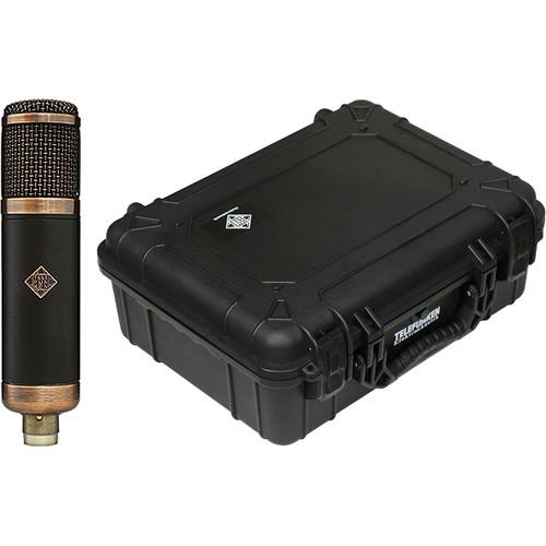 Telefunken CU-29 Copperhead Cardioid Tube Condenser Microphone with Flight Case