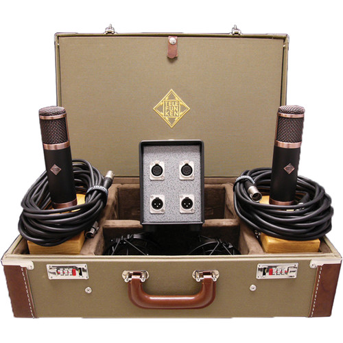 Telefunken CU-29 Copperhead Stereo Set