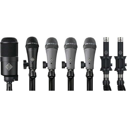Telefunken DC7 Condenser & Dynamic Microphone System for Drum Kits (7 Mics)