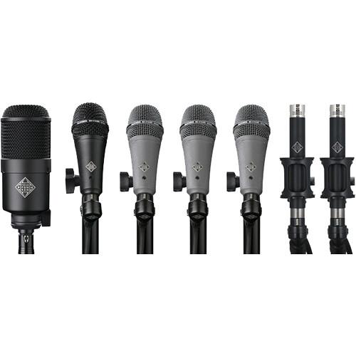 Telefunken DC7 Condenser & Dynamic Microphone System for Drum Kits (7 Mics)