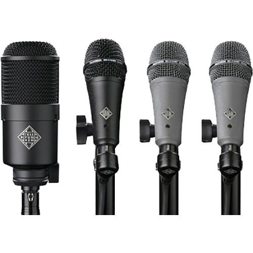 Telefunken DD4 Dynamic Microphone System for Drum Kits (4 Mics)