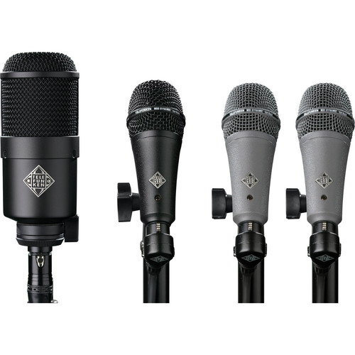 Telefunken DD4 Dynamic Drum Microphone Set