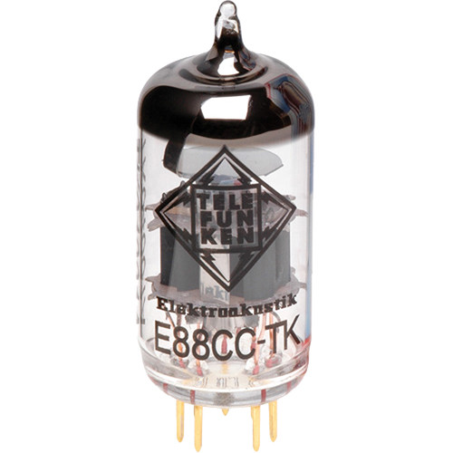 Telefunken E88CC-TK Black Diamond Series Preamp Tube
