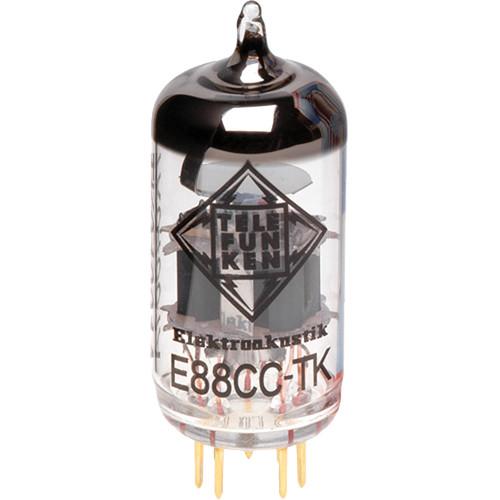 Telefunken E88CC-TK/6922 Black Diamond Series Vacuum Tube