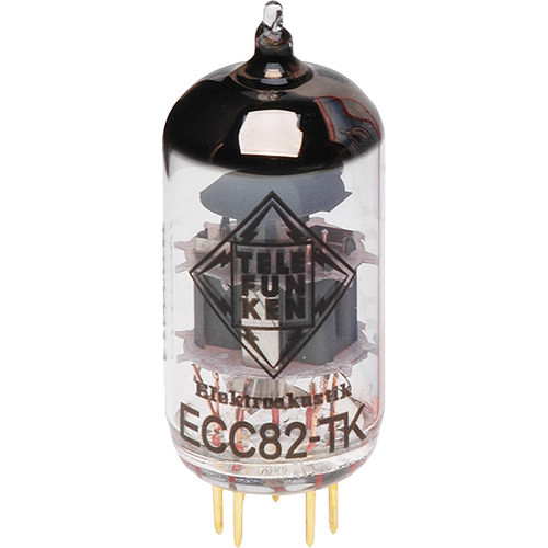 Telefunken ECC82-TK Black Diamond Series Vacuum Tube with Balanced Triodes (Single)