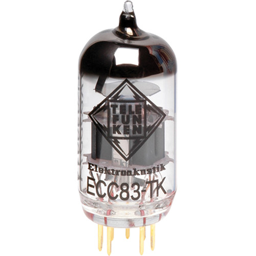 Telefunken ECC83-TK Black Diamond Series Preamp Tube