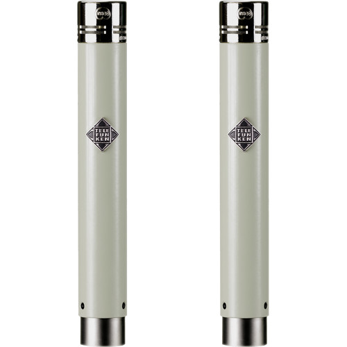 Telefunken ELA M 260 Stereo Set Small-Diaphragm Tube Condenser Microphones (Matched Pair)