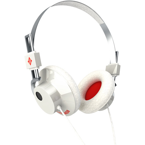 Telefunken Hancock Closed-Back Over-the-Ear Headphones (White)
