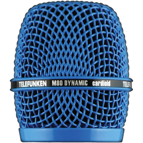 Telefunken HD03 Replacement Head Grille for M80 / M81 Microphone (Blue)