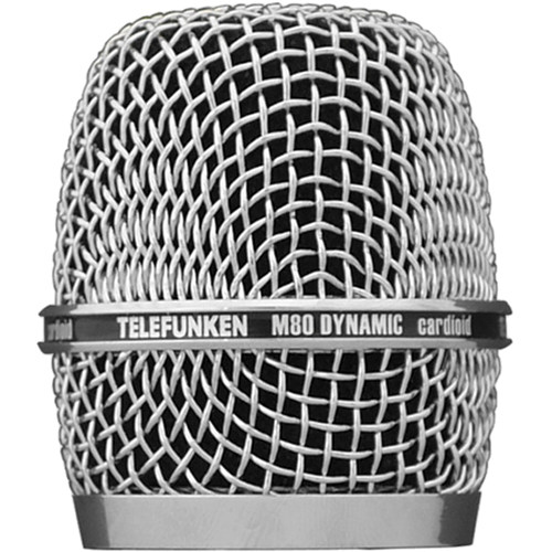 Telefunken HD03 Replacement Head Grille for M80 Microphone (Chrome)