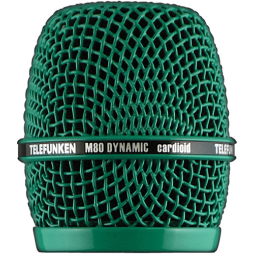 Telefunken HD03 Head Grille for M80 or M81 Microphone (Green)