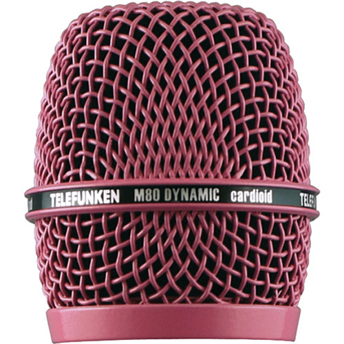 Telefunken HD03 Replacement Head Grille for M80 / M81 Microphone (Pink)