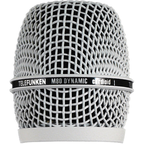 Telefunken HD03 Head Grille for M80 or M81 Microphone (White)