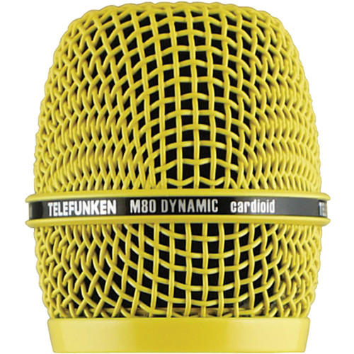 Telefunken HD03 Head Grille for M80 or M81 Microphone (Yellow)
