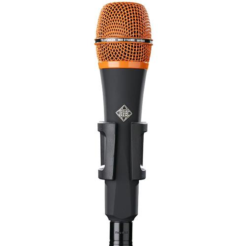 Telefunken M80 Custom Handheld Supercardioid Dynamic Microphone (Black Body, Orange Grille)