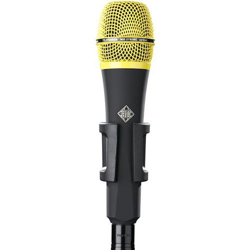 Telefunken M80 Custom Handheld Supercardioid Dynamic Microphone (Black Body, Yellow Grille)