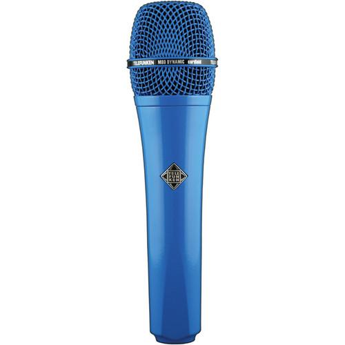 Telefunken M80 Custom Dynamic Handheld Microphone (Blue)