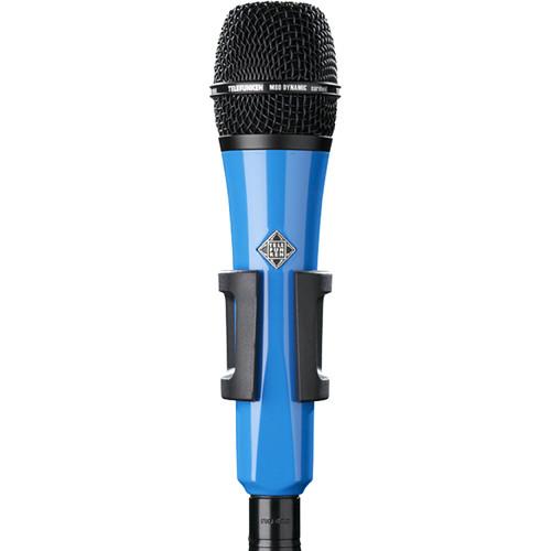 Telefunken M80 Custom Handheld Supercardioid Dynamic Microphone (Blue Body, Black Grille)