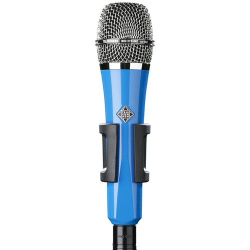 Telefunken M80 Custom Handheld Supercardioid Dynamic Microphone (Blue Body, Chrome Grille)