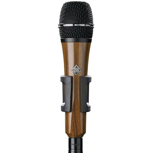 Telefunken M80 Custom Handheld Supercardioid Dynamic Microphone (Cherry Body, Black Grille)