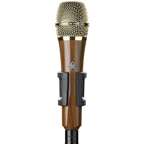 Telefunken M80 Custom Handheld Supercardioid Dynamic Microphone (Cherry Body, Gold Grille)