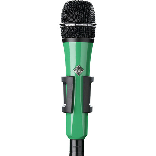 Telefunken M80 Custom Handheld Supercardioid Dynamic Microphone (Green Body, Black Grille)