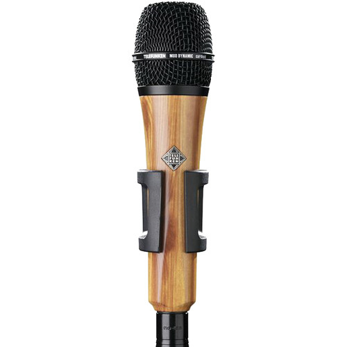 Telefunken M80 Custom Handheld Supercardioid Dynamic Microphone (Oak Body, Black Grille)