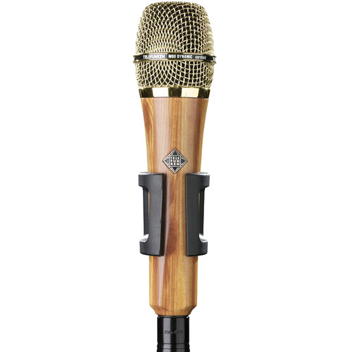 Telefunken M80 Custom Handheld Supercardioid Dynamic Microphone (Oak Body, Gold Grille)