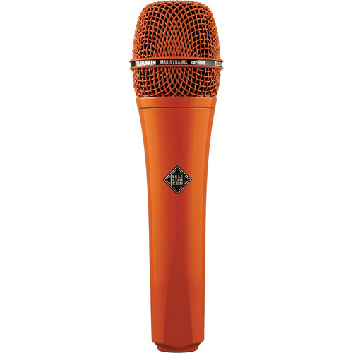 Telefunken M80 Custom Handheld Supercardioid Dynamic Microphone (Orange Body, Orange Grille)