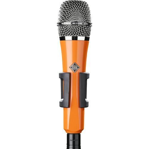 Telefunken M80 Custom Handheld Supercardioid Dynamic Microphone (Orange Body, Chrome Grille)