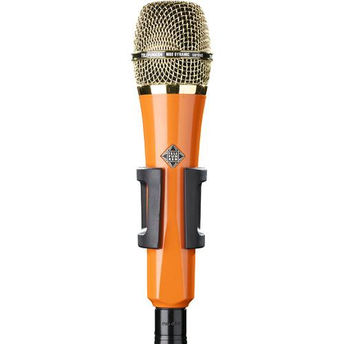 Telefunken M80 Custom Handheld Supercardioid Dynamic Microphone (Orange Body, Gold Grille)
