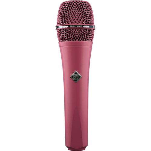 Telefunken M80 Custom Handheld Supercardioid Dynamic Microphone (Pink Body, Pink Grille)
