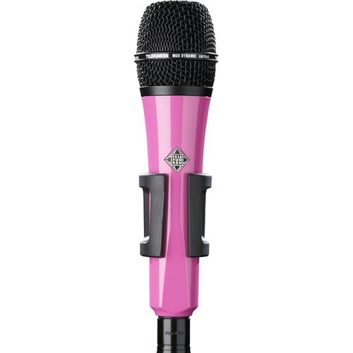 Telefunken M80 Custom Handheld Supercardioid Dynamic Microphone (Pink Body, Black Grille)