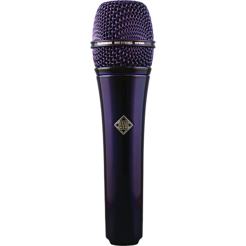Telefunken M80 Custom Handheld Supercardioid Dynamic Microphone (Purple Body, Purple Grille)