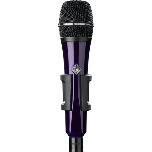 Telefunken M80 Custom Handheld Supercardioid Dynamic Microphone (Purple Body, Black Grille)