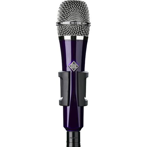 Telefunken M80 Custom Handheld Supercardioid Dynamic Microphone (Purple Body, Chrome Grille)