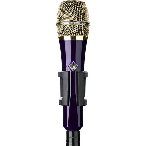 Telefunken M80 Custom Handheld Supercardioid Dynamic Microphone (Purple Body, Gold Grille)