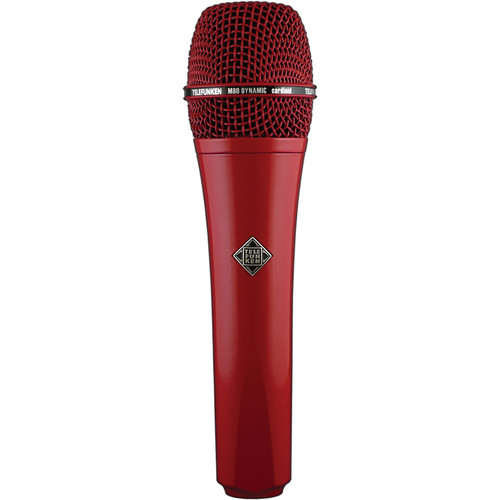 Telefunken M80 Custom Dynamic Handheld Microphone (Red)