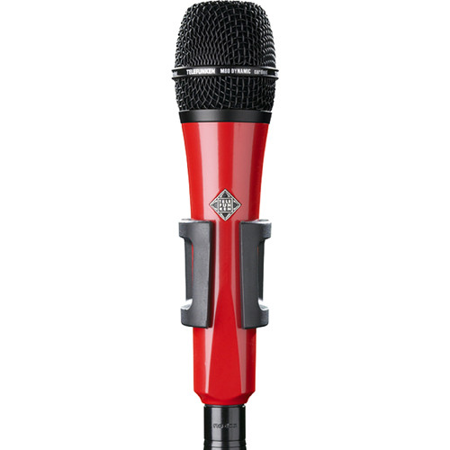 Telefunken M80 Custom Handheld Supercardioid Dynamic Microphone (Red Body, Black Grille)