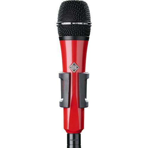 Telefunken M80 Custom Handheld Supercardioid Dynamic Microphone (Red Body, Black Grille)