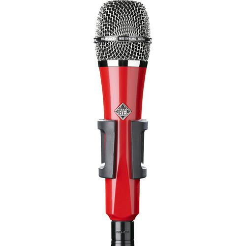 Telefunken M80 Custom Handheld Supercardioid Dynamic Microphone (Red Body, Chrome Grille)