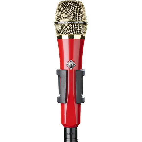Telefunken M80 Custom Handheld Supercardioid Dynamic Microphone (Red Body, Gold Grille)