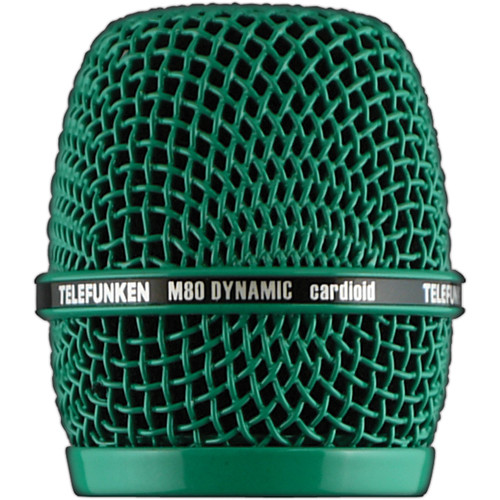 Telefunken Replacement Grill for the Telefunken M80 Dynamic Microphone (Green)