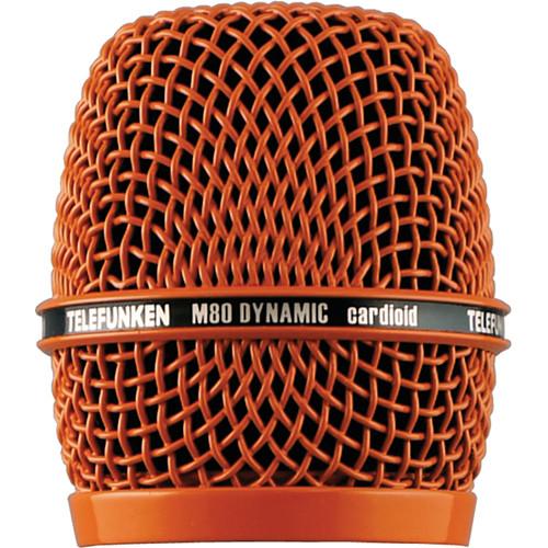 Telefunken Replacement Grill for the Telefunken M80 Dynamic Microphone (Orange)