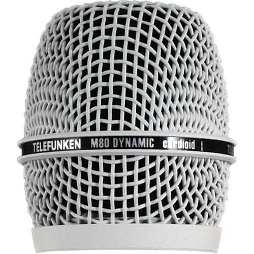 Telefunken Replacement Grill for the Telefunken M80 Dynamic Microphone (White)